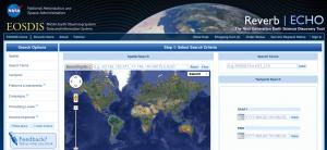 Screenshot of reverb website