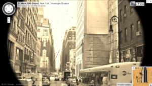 """""""historic"""" streetview in NY"""