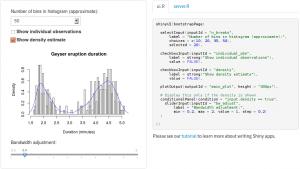 shiny @rstudio: a nice analytical webapp