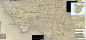 IBERPIX - old topographic map of the Bolonia Bay