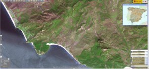 IBERPIX - SPOT imagery of the Bolonia Bay
