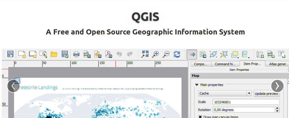 qgis 2.0 website screenshot