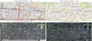 Das Tool Map Compare der Geofabrik aus Karlsruhe