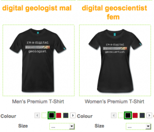 T-shirt, spreadshirt, digital-geography
