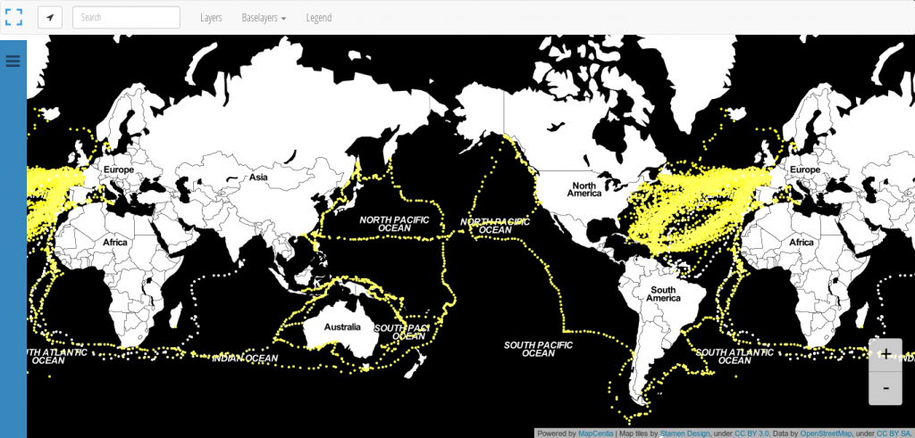 shipping routes historic