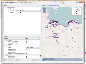 QGIS to OpenLayers 3 - with preview mode on