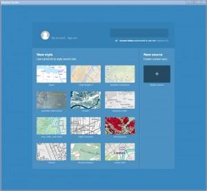 project menu