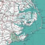 topographical map USA