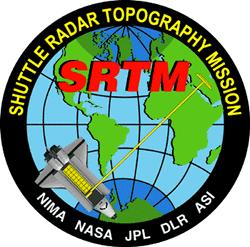 SRTM-Logo (Quelle: http://komunitas-atlas.blogspot.com/2011/11/shuttle-radar-topography-mission-srtm.html)