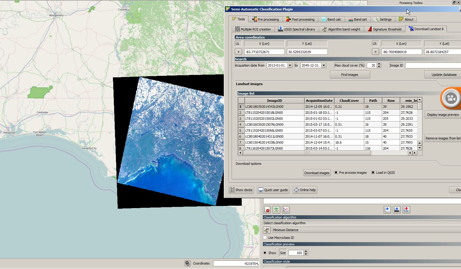 landsat preview