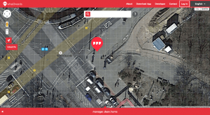 define a location on the *what3words* worldmap