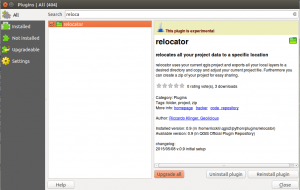 relocator plugin