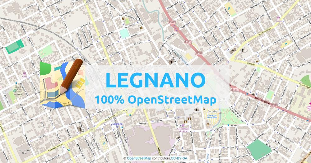 Map a city with OpenStreetMap