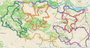 Awesome map style Monferrato Paesaggi