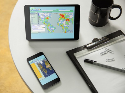 Figure 3 - You can use OpenWebGIS as Android app