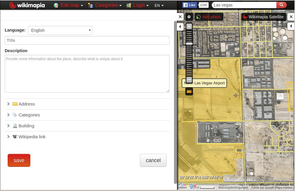 edit mode wikimapia