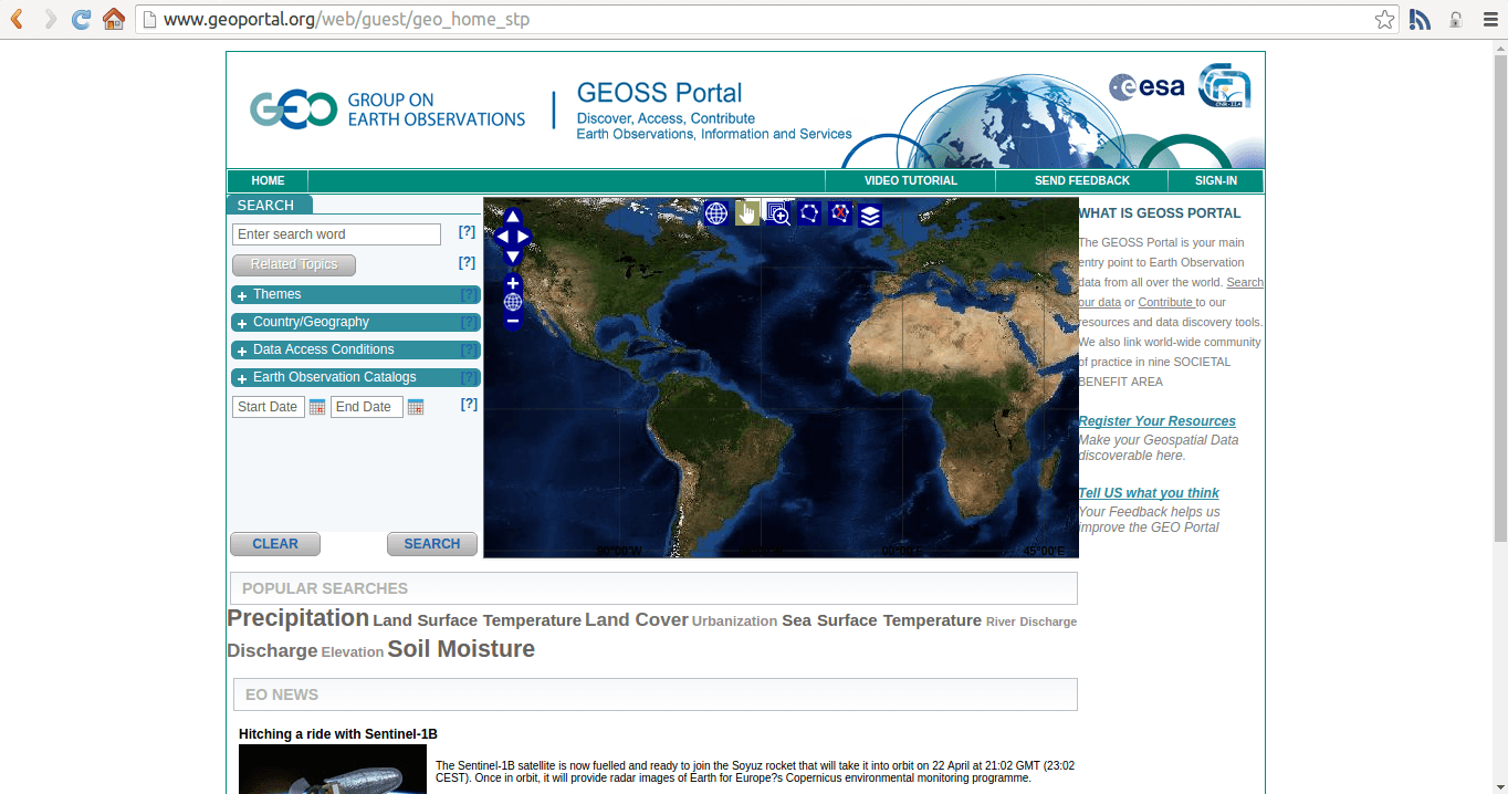 Geoportal ESA