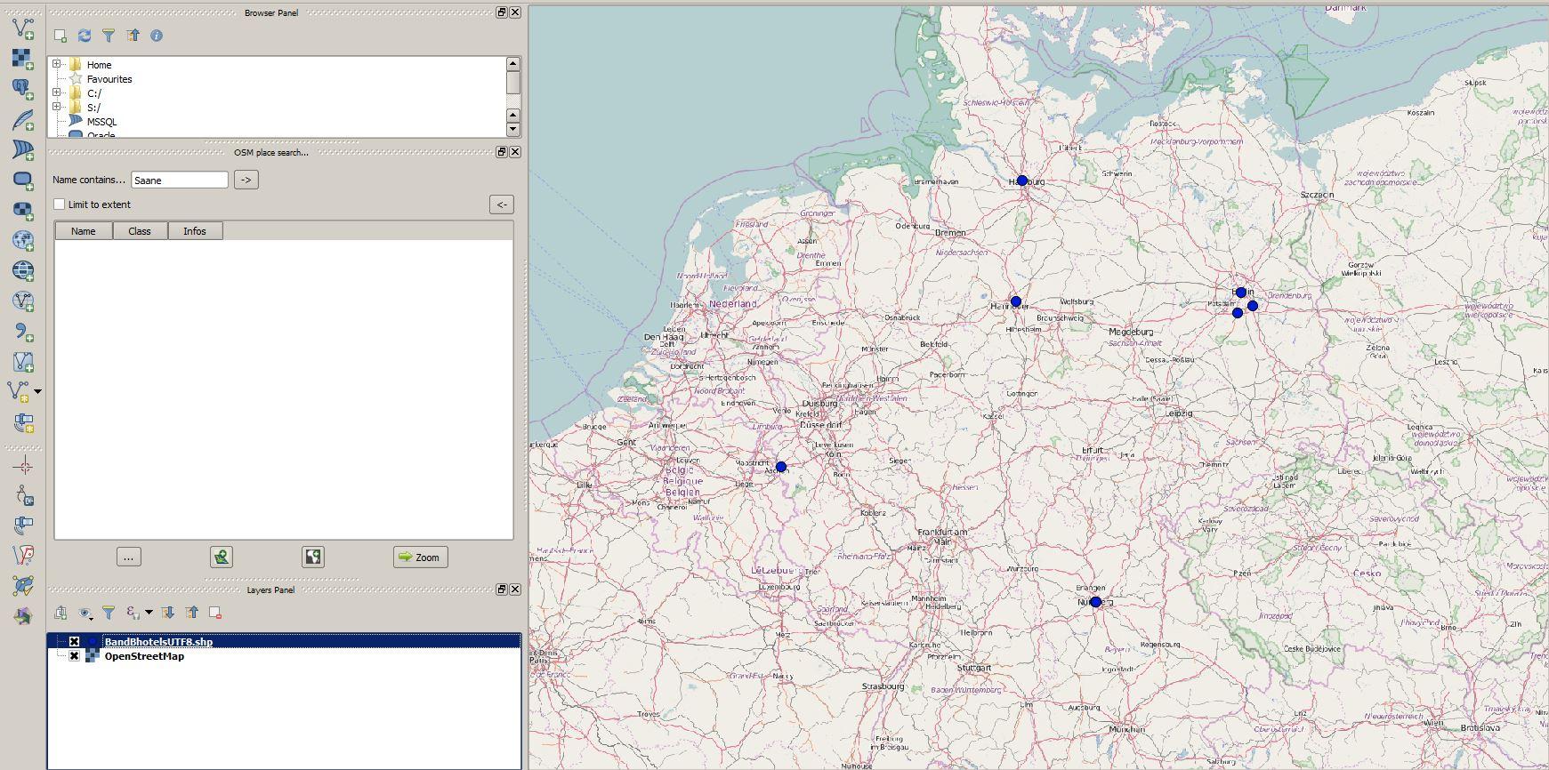 MMQIS Geocode results