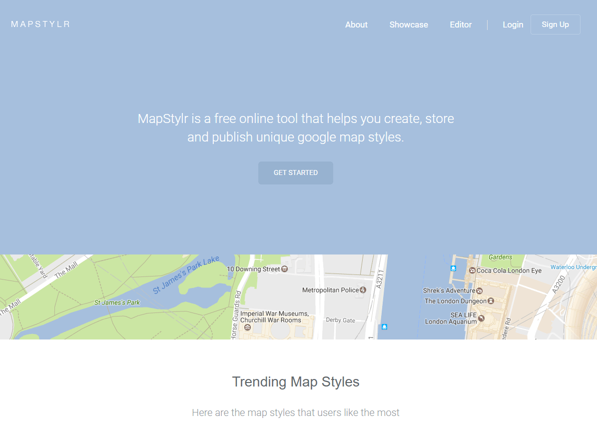 Mapstylr Screenshot