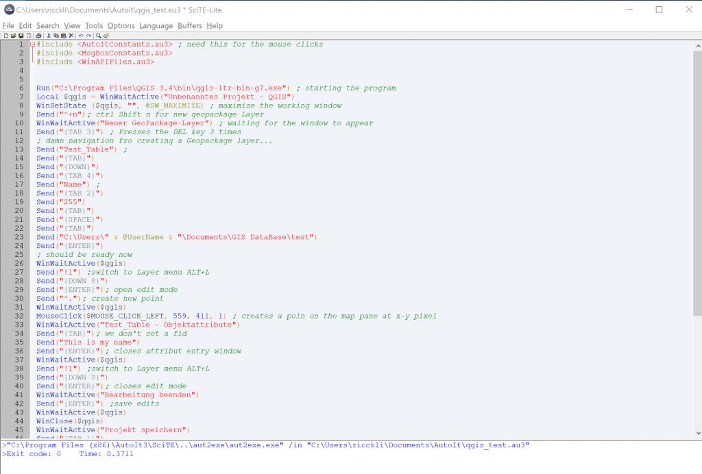 AutoIt editor for Windows