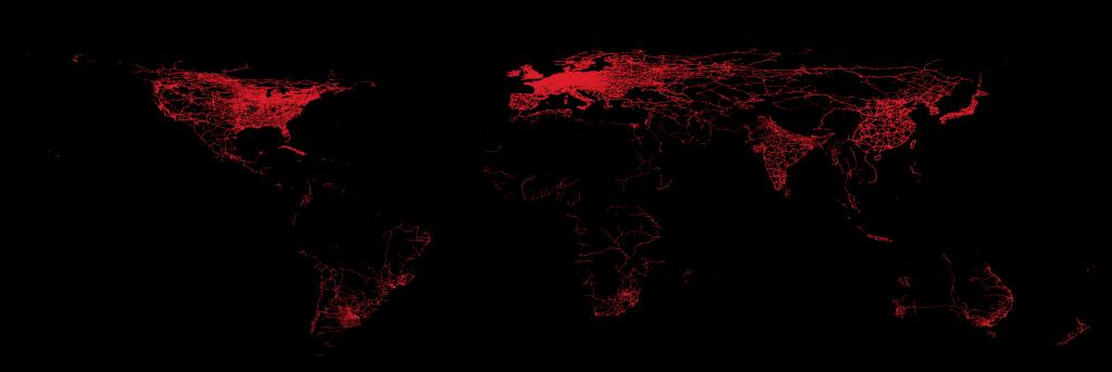 railway network of the world