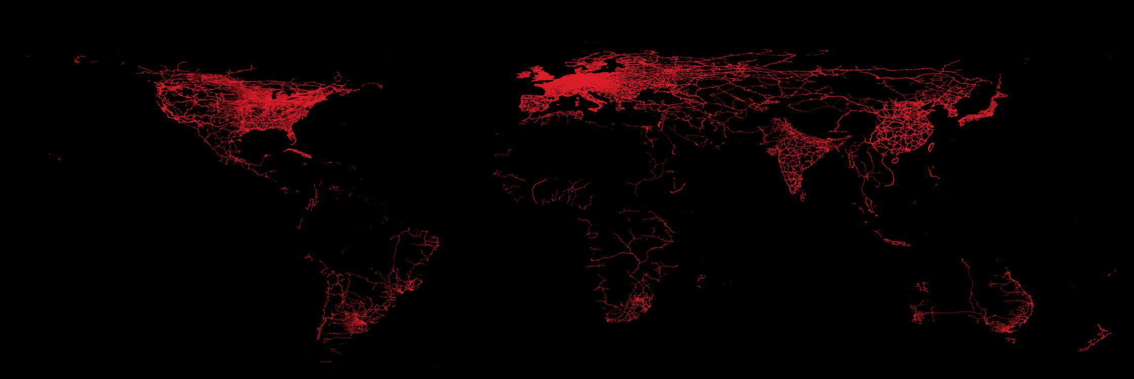 railway network of the world